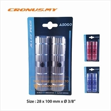 [CRONUS.MY] BICYCLE ALLOY FOOT PEGS 28 X 100MM X 3/8' | 3 COLORS