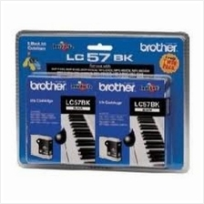 Brother LC-57 Black Twin Pack Ink (Genuine) 350 540 440 665 3360 5460