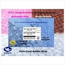 United Sunshine's LIST OF BUBBLE WRAP BAGS & SHEETS Plastic Packaging