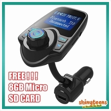 Car Wireless Bluetooth FM Transmitter Music Player Handfree Charger