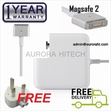 Apple 20V 4.25A 85W Retina Display Magsafe 2 2012 2013 Adapter Charger