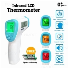 PRADO Baby Adult Non Contact Infrared LCD Temperature Memory Record Th