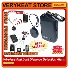 Electronic Anti-lost Reminder Distance Detection Alarm Vibration Alert