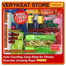 Auto Counting Jump Rope for Fitness Exercise Jumping Rope