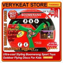Ultra-cool Styling Boomerang Sport Toys Outdoor Flying Discs For Kids