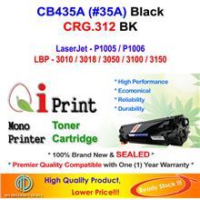 HP CB435A 35A P1005 P1006 CRG 312 Toner Compatible * NEW SEALED *