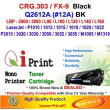 CANON CRG 303 LBP2900 LBP3000 FX-9 Toner Compatible * NEW SEALED *