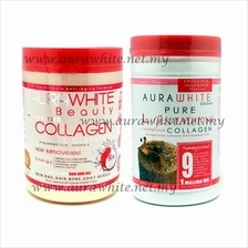 1 Jar Aura White Collagen + 1 Jar Aura White Chocolate *Free Poslaju