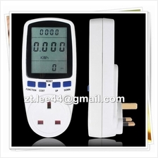 Energy Watt Voltage Amps Meter Analyzer Electricity Usage Monitor