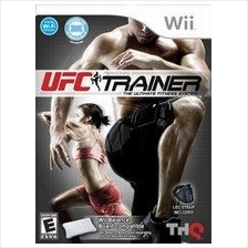 UFC Personal Trainer Wii NTSC with leg strap