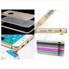 iPhone 6 6S Plus 5 5S Galaxy Note 4 Aluminium Steel Bumper w Back Case