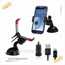 3in1 Universal Car Holder Mount For Samsung Galaxy S3 S4 i9300 i9500