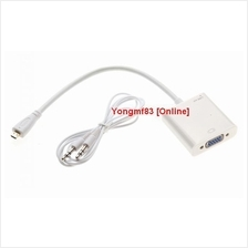 Micro HDMI Male to VGA Female Cable with Audio Output Line (CP-C-115)