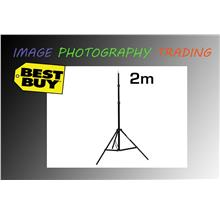 2M Light Stand Tripod For Photo Studio Video Lighting