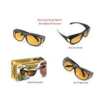 HD Vision Glasses Driving Anti Glare Wrap Around Sunglasses