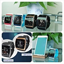 Upro1 Smartwatch Phone Bluetooth Touchscreen (Promo Color:Rose Red)
