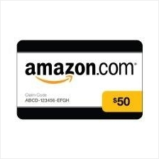 Amazon USD50 Gift Card (Email/PM)
