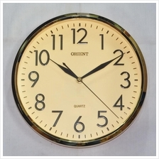 Orient 10 INCH Quartz Wall Clock OR117 C.GOLD/GOLD