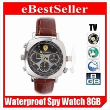 8GB Weather Proof Spy Watch Camera Video Pinhole DVR Camcorder 038