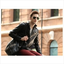 Men fashion  Slim Jacket Motorcycle Jacket
