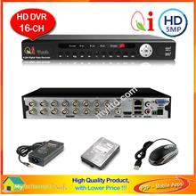 Qi Tech CCTV 16-Channels HD Hybrid Network DVR + 1TB - Apps Store*