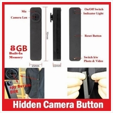 HY900 BUTTON SPY PINHOLE BUILT-IN 8GB CAMERA/CAMCORDER