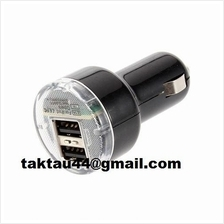 Mini Dual 2 Port Universal USB Car Charger Adapter * Free Shipping