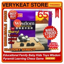Educational Family Baby Kids Toys Wisdom Pyramid Learning Chess Game