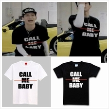 EXO Latest Album Call me Baby Shirt Sleeves Tee T Shirt Couple Shirt
