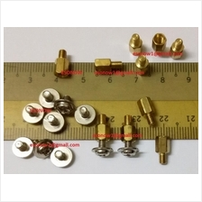 100sets Brass Motherboard 10mm Standoffs & Screws M3