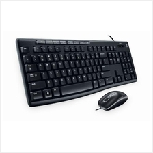 LOGITECH MK200 WIRED KEYBOARD & MOUSE COMBO