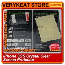 iPhone 3GS Crystal Clear Screen Protector (Front)
