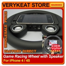 iPHONE 4S Game Racing Wheel with Speaker