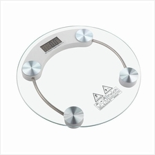 Tempered Glass Digital Round Scale Body Weighting Weight Scale