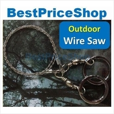 Survival Commando Wire Saw Camping Tool Knife Cutter