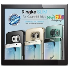 ★ Galaxy S6 Edge Case - Ringke SLIM [Top and Bottom Coverage]