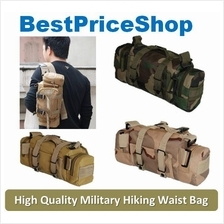 Military Survival Shoulder Waist Pouch Bag Army cycling Hiking Fashion