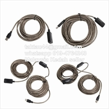3m 5m 10m 20m USB 2.0 Extension Cable with Booster Repeater Extender