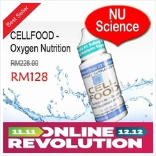 CELLFOOD - Oxygen Nutrition From NU Science ** 11.11 Offer RM128 **