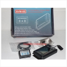1-8 Cell Battery Voltage Meter BVM - 8S (Y028)