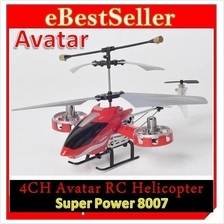 Power Plane 4 CHANNEL RC Radio Remote Control Helicopter Children kids