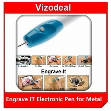 AS SEEN ON TV - Engrave-It Electronic Pen for Metal,Wood,Glass&Plastic