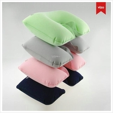 3 in1 Travel Set Inflatable Neck Air Cushion Pillow + eye mask + 2 Ear