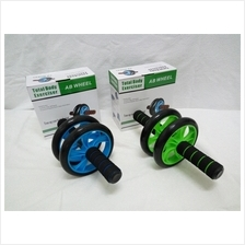 2 - Fitness Double Roller Exercise Wheel 155mm Abs Build up