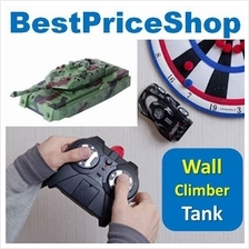 4CH Remote Control RC Wall Climbing Climber Stunt War Tank Toy