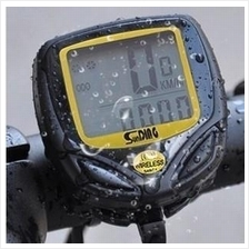 wired wireless Bike Bicycle Cycling Computer LCD odometer Speed meter