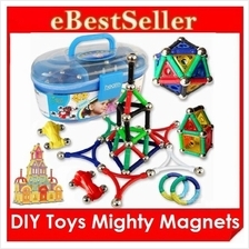DIY Toys Mighty Magnets Box Magnetic Blocks Educational Colorful toys