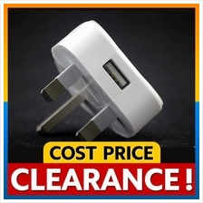 Apple 3 Pin Charger Plug for iPhone iPad iPod