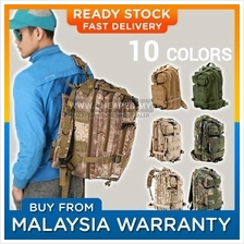 Army Military 3P Attack Backpack SWAT Bag 25L - 10 Design
