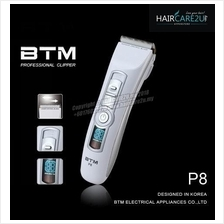 BTM P8 Professional Cordless Hair Clipper